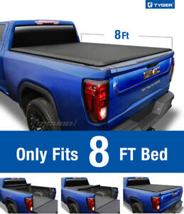 Tyger T1 Roll Up Tonneau Cover For 1988 2007 Silverado Sierra 8ft Bed
