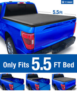 Tyger T1 Roll Up Tonneau Cover For 2015 2019 Ford F 150 5 5 Bed