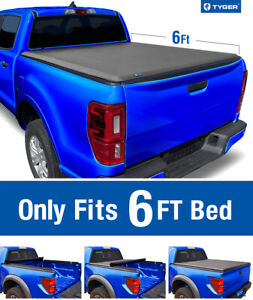 1982 2013 Ford Ranger 94 11 Mazda B 6 Bed Tyger T1 Roll Up Tonneau Cover