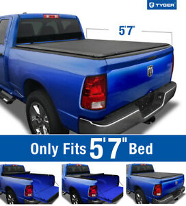Fits 2009 2019 Dodge Ram 1500 5 8ft Bed Tyger T1 Roll Up Tonneau Cover