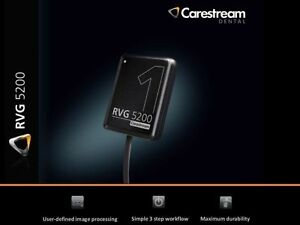 2 X Carestream Kodak Rvg 5200 Digital X ray Sensor For Dental X ray Size 1dz