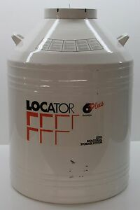 New Thermo Scientific Locator 6 Plus Cryogenic Vessel Liquid Nitrogen Tank Only