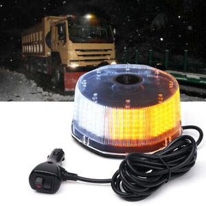 Xprite 240 Led Strobe Light Rooftop Rotating Beacon Trucks Pickup Safety Lamp