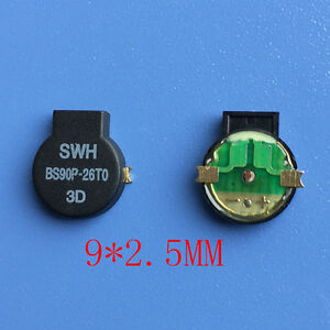 New Passive Buzzer Side Pronunciation Smd Buzzer Gold plated Feet Bs90p 26t0