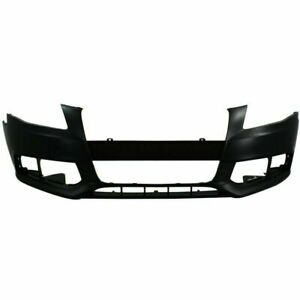 New Front Bumper Cover Facial Primed For Audi A4 Quattro Au1000162 2009 2012