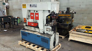 95 Ton Mubea Hydraulic Iron Worker Metal Worker Fabricator Punch Notch Shear