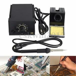 110v 936 Thermostatic Soldering Station For Hakko 907 Heated Iron 24v 60w Heater
