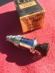 1953 1954 Pontiac Chieftain Star Chief Nos Casco Dash Cigar cigarette Lighter