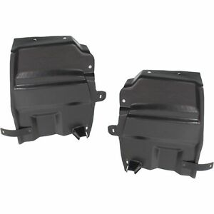 New Set Of 2 Lh Rh Engine Under Cover Splash Shields For Nissan Maxima 09 14