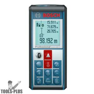 Bosch Tools Glm100c 330 Li ion Laser Distance Angle Measure Bluetooth New