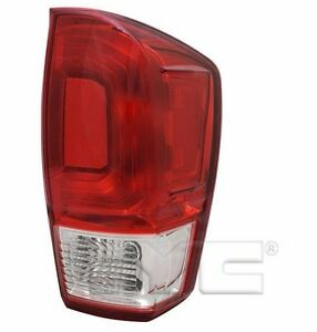 Tyc Nsf Right Side Tail Light Assy For Toyota Tacoma Base sr 2016 2017 Model