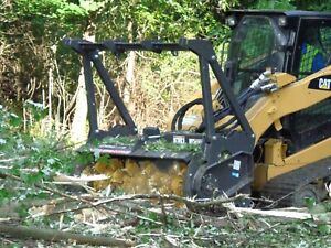 Series Ii Skid Steer Mulcher Attachment 72 With Teeth No Fuss Land Clearing