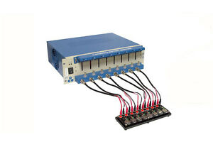 8 Channel Battery Analyzer 0 005 1 Ma Upto 5v W Adjustable Cell Holders