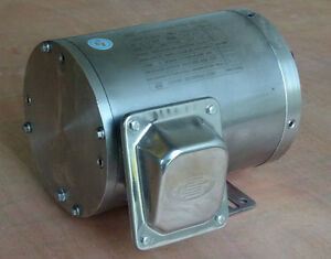 Gator Stainless Steel Ac Motor 1 4 Hp 1800rpm 56c Frame Footed Non vent