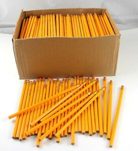 Yellow 2 Pencils In Bulk School Supplies 1 728 Count