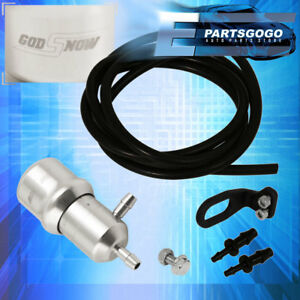 Universal Manual Boost Controller Psi Silver Turbocharger Turbo Boost Racing