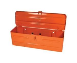 5a3or Steel Orange Tool Box For All Kubota Tractor And Compact Tractors