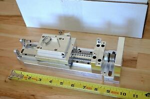 New Techmetric Precision Linear Actuator Slide Positioner Stage Nema23 Cnc Diy