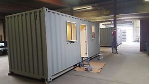20 Ft Bunk house 160 Sqft Ready For Fema Or By Universal Container Homes