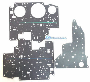 Ford 4r70w 4r75e Transmission Complete Valve Body Cover Plate Gasket Set 2001 up