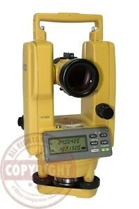 Topcon Dt 209 Digital Thodolite Tranist construction layout building Sokkia