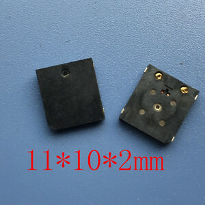 Ultra thin Buzzer Electromagnetic Type Passive Smd Buzzer 11 10 2mm