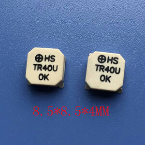 New Hstr40u Electromagnetic Type Passive Smd Buzzer Frequency 2400hz 90db