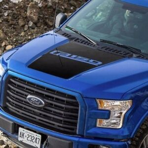 Ford F 150 2015 2018 Hood Graphics Side Stripe Decal Ford Performance