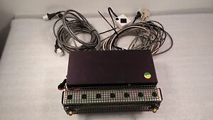 Velmex Nf90 3 Stepping Motor Controller W Ceramic Resistor And Cables