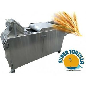 Wheat Flour Tortilla Machine Equipment With Automated Grill