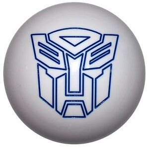 White Transformer Autobot Shift Knob M16x1 50 Fits Camaro Trans Am Firebird