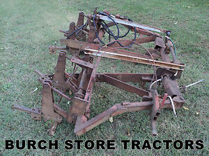 International Model 80 Mid Mount 2 Row Cultivator For Ih 574 674 Tractors