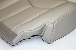 2003 2004 2005 2006 Chevy Tahoe Suburban Passenger Leather Seat Cover Shale Tan