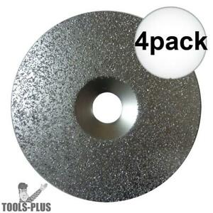 4pk 6 X 24 Grit Carbide Grit Disc Aka 18030 Porter cable 823932 New