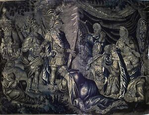 Continental Belgian Style Horizontal Tapestry