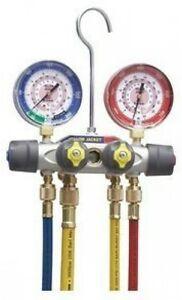 Yellow Jacket 49967 Titan 4 valve Test And Charging Manifold Degrees F Psi