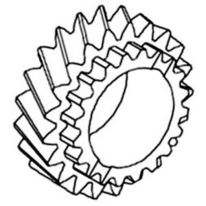 T21981 Transmission Countershaft Gear For John Deere Jd 300 300b 301 302 400 401
