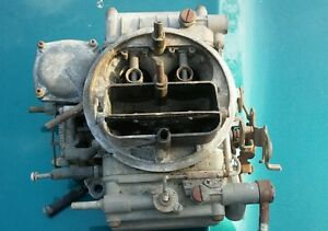 600 Holley Carburetor