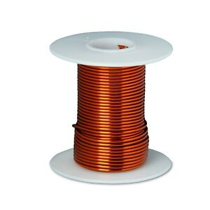 14 Awg Gauge Enameled Copper Magnet Wire 2oz 9 Length 0 0671 200c Nat