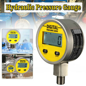Digital Hydraulic Pressure Gauge 0 250bar 3600psi G bsp1 4 Base Entry New