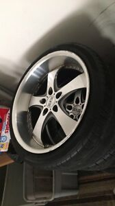 20 Inch Rims Plus Tires Fits Three Bolt Patttern 5x120 5x114 3 5x112