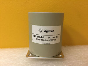 Agilent Hp 87104a Dc To 4 Ghz 1 2 Swr 100 Db Sma f Spht Coaxial Switch