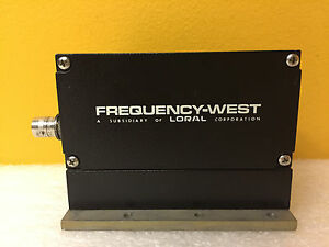 Frequency West Loral Mo 111xc 48 1500 To 1720 Mhz Microwave Oscillator