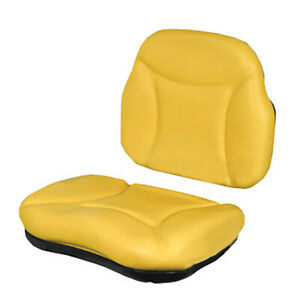 5000sckit Yellow Seat Cushion Kit For Re62227 Seat For John Deere 5200 5300 5400