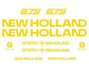 New Holland 675 Manure Spreader Decal Kit Sticker Set Fl1