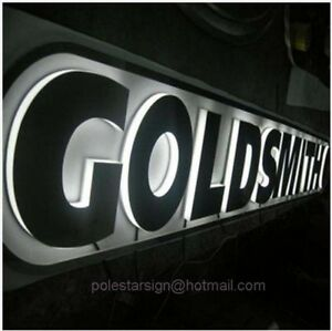 Customized 3d Led Lighting Sign Letters Signboard Signage Channel Letters Logos