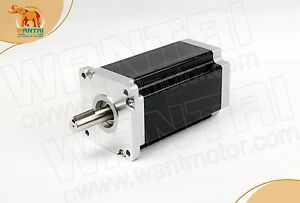 Wantai 1pc Nema42 Stepper Motor 110bygh201 001 201mm 4200oz in Ce Iso Rohz Mill