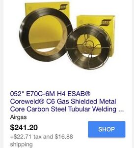 052 E70c 6mh4 Esab Coreweld C6 Gas Shielded Metal Core Carbon Steel Weld Wire