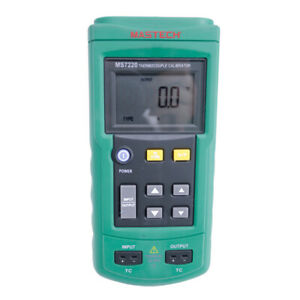 Ms7220 Thermocouple Calibratortemperature Calibrator Eight Types Of Thermocouple