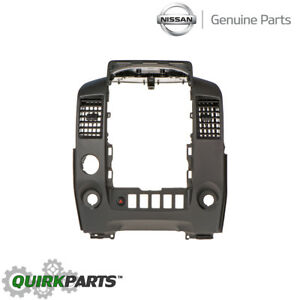 014 2015 Nissan Titan Center Console Finish Instrument Trim Bezel Beige Oem New